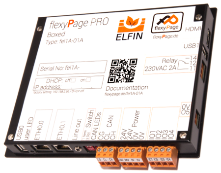 flexyPage Display Controller Boxed